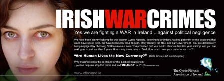 Cystic Fibrosis - Irish War Crimes Campaign