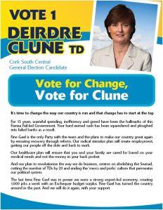 Deirdre Clune - Fine Gael