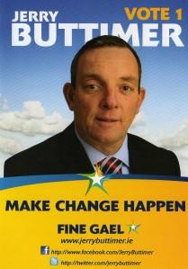 Jerry Buttimer, Fine Gael