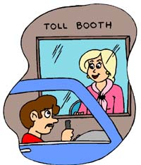Toll Booth Blonde!