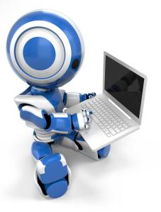 Robot Using a Computer!