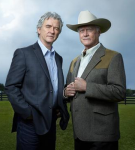 Bobby and JR Ewing