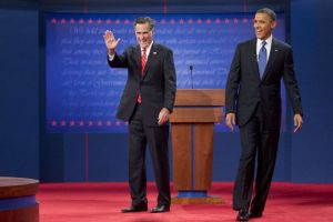 Romney and Obama - Presidential Debate