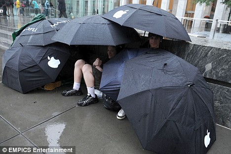 Apple Umbrellas