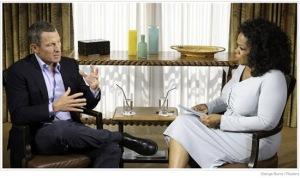 Lance Armstrong & Oprah