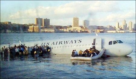 Plane on the Hudson