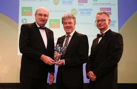 Chambers Ireland - CSR Awards - Greg Canty, Fuzion PR