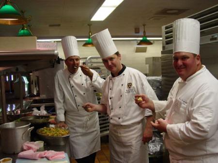 Chefs tasting