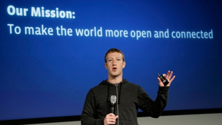 Facebook Mission - To Make the world more open and connected