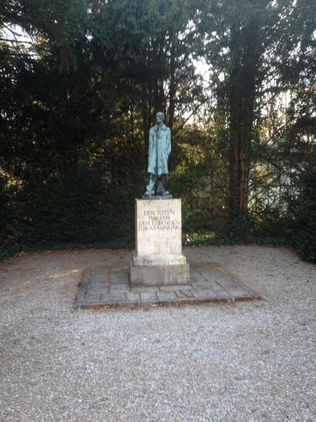 Statue at Dachau