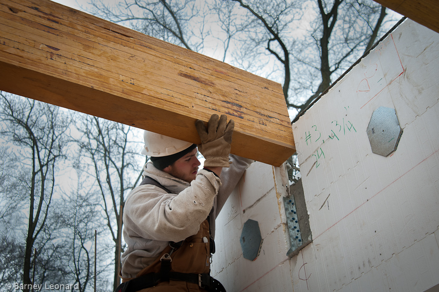 Wood Support Beams ~ Support beam greg canty fuzion