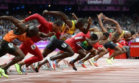 Men's 100m final Usain Bolt