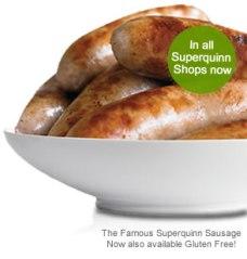 Superquinn sausages