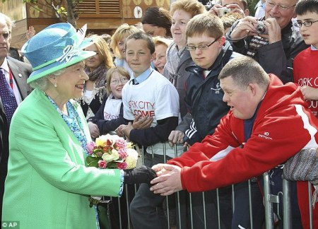 The Queen visits Cork, Friendly City