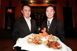 Jimmy and William Wong, Ambassador Restaurant, Cork