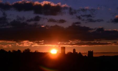 Sunrise aftre teh storm