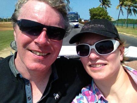 Greg and Dee, Cuba