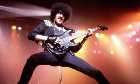 Phil Lynott of Thin Lizzy