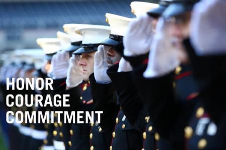 US Marines Core Values