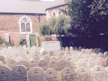 Nano Nagle's grave, Cork