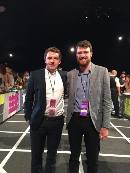 Brendan Canty and Con Thomson, MTV VMA Awards