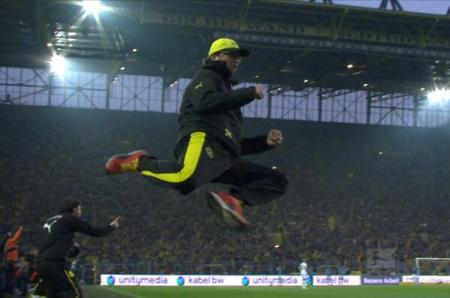 klopp celebrating