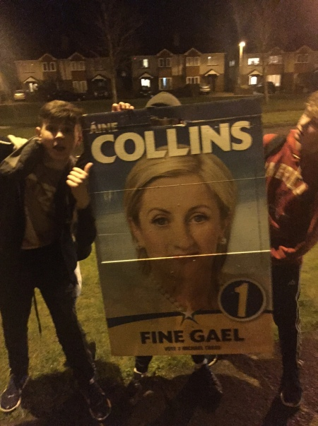 Aine Collins poster