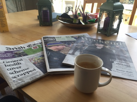 Newspaper therapy