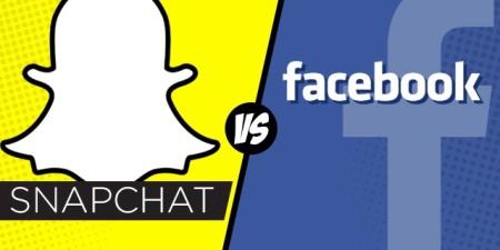 Snapchat versus Facebook