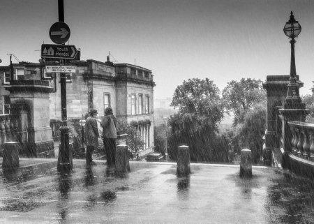 Tinseltown in the Rain