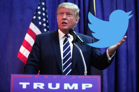 Trump loves twitter