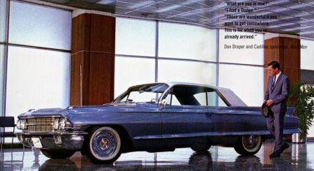 Mad Men new car, Cadillac