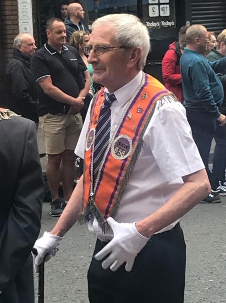Orange parade