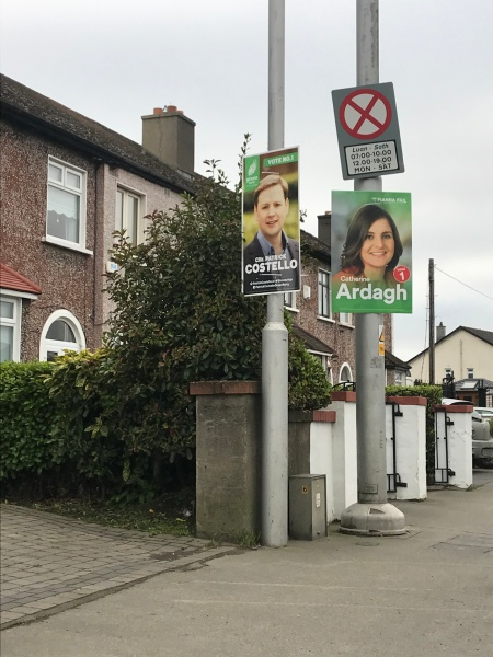 Election Posters - General Election Ireland 2020